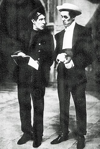 Havana (Edwardian musical) - Alfred Lester and Lawrence Grossmith in the original London production