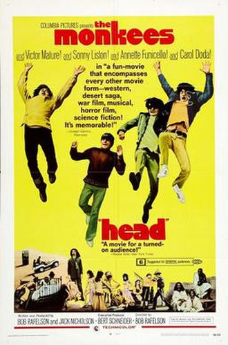 Head (film) - Theatrical release poster