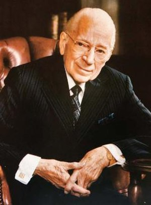 Herbert W. Armstrong - Armstrong in the mid-'70s
