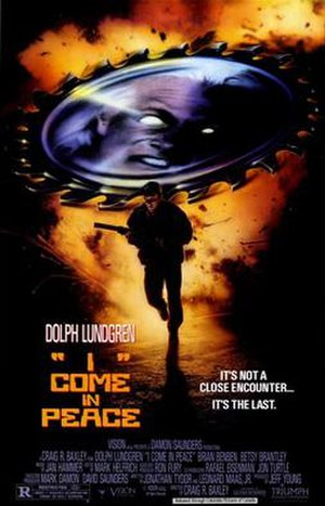 I Come in Peace - Theatrical release poster