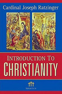<i>Introduction to Christianity</i> book by Benedict XVI