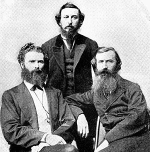 Charles Kickham - Denis Dowling Mulcahy, Thomas Clarke Luby and John O'Leary