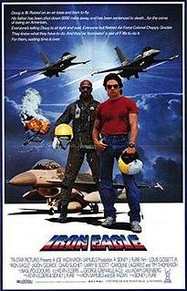 <i>Iron Eagle</i> 1986 American military action film