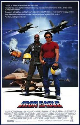 Iron Eagle - Theatrical release poster