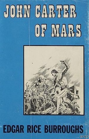 John Carter of Mars (collection) - Dust-jacket of first edition