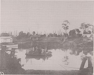Johnsonville, Victoria - Johnsonville Punt around the 1880s