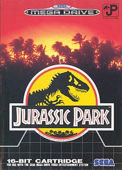 Jurassic Park for the Sega Mega Drive/Genesis