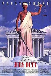 <i>Jury Duty</i> (film) 1995 film by John Fortenberry