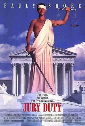 Jury Duty (film) - Promotional poster