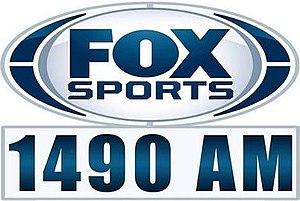 KWOK - Image: KWOK Fox Sports 1490 logo