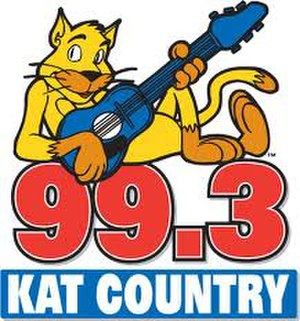 WWKT-FM - Image: Kat Country 993