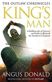 <i>Kings Man</i> book by Angus Donald