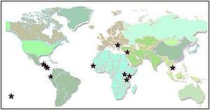 Kiva (organization) - Kiva partners around the world (September 2006)