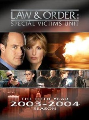 Law & Order: Special Victims Unit (season 5) - Image: L&O SVU season 5 DVD