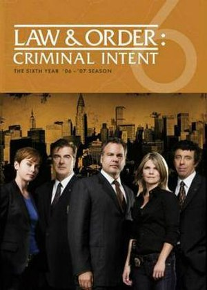 Law & Order: Criminal Intent (season 6) - Image: Law And Order CI S6