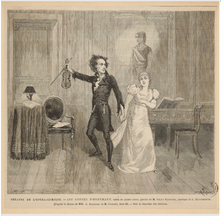 Antonia and Dr. Miracle, 1881 Les contes d'Hoffmann - Antonia act - Dr. Miracle and Antonia.png