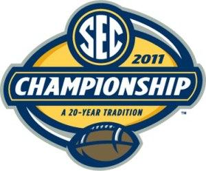 2011 SEC Championship Game - 2011 SEC Championship logo.