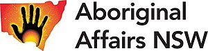 Aboriginal Affairs NSW - Image: Logo of Aboriginal Affairs NSW 2009