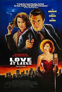<i>Love at Large</i> 1990 film