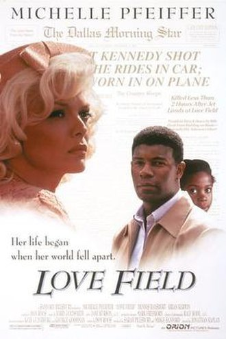 Love Field (film) - Theatrical release poster