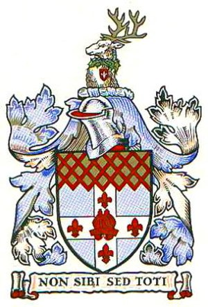 Metropolitan Borough of Hampstead - Arms of the metropolitan borough