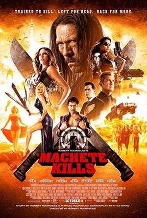 Machete Kills - Image: Machete Kills