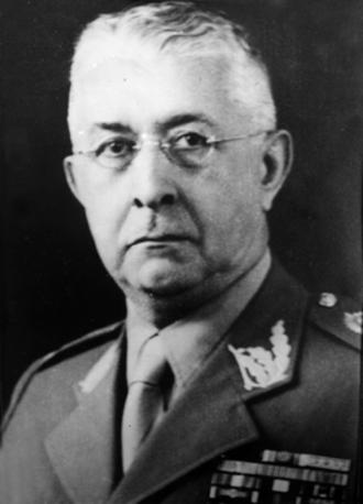 João Baptista Mascarenhas de Morais - Marshal Mascarenhas de Moraes in 1954