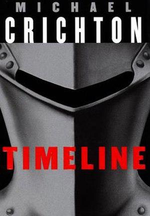 Timeline (novel) - First edition cover