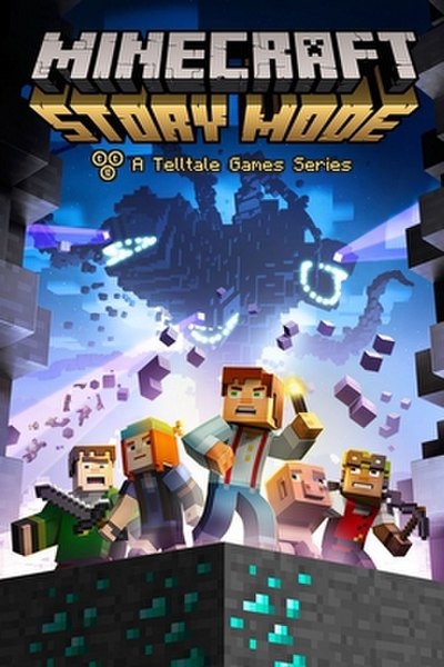 Picture of a game: Minecraft: Story Mode