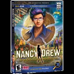 Nancy Drew, La Frakasi Medaljono, oficiala kestart.png