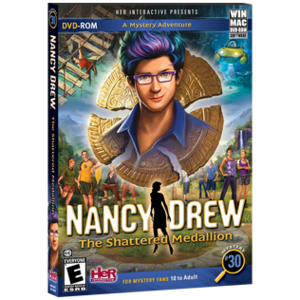 Nancy Drew: The Shattered Medallion - Image: Nancy Drew, The Shattered Medallion, official box art