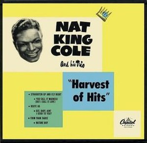 Harvest of Hits - Image: Nat King Cole Harvest Of Hits 3 45s