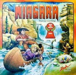 Niagara (board game) - Image: Niagara box cover