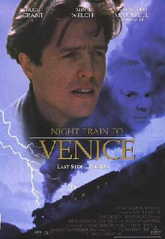 Night Train to Venice - Theatrical release poster