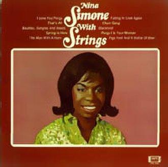 Nina Simone with Strings - Image: Ninasimonewithstring s