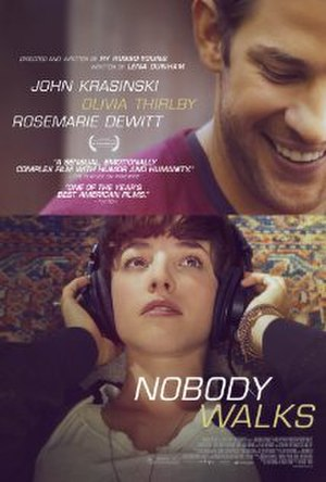 Nobody Walks - Official film poster
