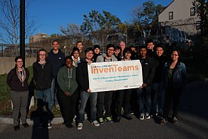 John D. O'Bryant School of Mathematics & Science - Students from the 2014 MIT Inventeam.