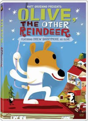Olive, the Other Reindeer - DVD cover