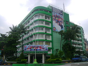 Metropolitan Manila Development Authority - The MMDA headquarters at EDSA and Orense Street, Makati
