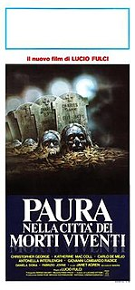<i>City of the Living Dead</i> 1980 film directed by Lucio Fulci