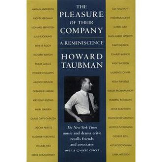 Howard Taubman - Howard Taubman's Memoir