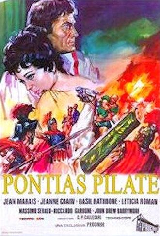 Pontius Pilate (film) - 1962 US Theatrical Poster