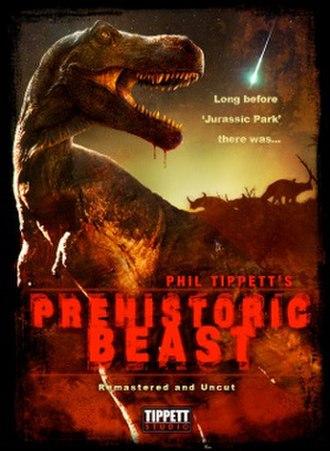 Prehistoric Beast - Prehistoric Beasts rerelease online poster (Tippett Studio, 2011).