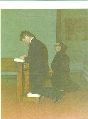 Colonia, Oxnard, California - Robert F. Kennedy in Cristo Rey Church