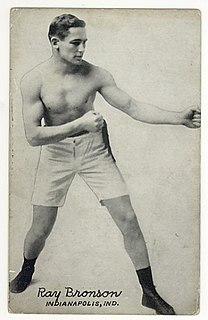 Ray Bronson American boxer