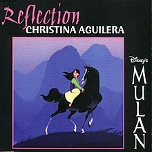 Image result for MULAN REFLECTION CHRISTINA COVER