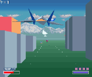 Super FX - Super FX-rendered 3D polygon graphics in the SNES game Star Fox