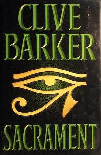 Sacrament (novel) - First edition (UK)