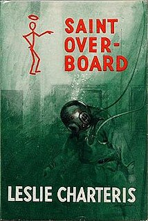 <i>Saint Overboard</i> novel by Leslie Charteris