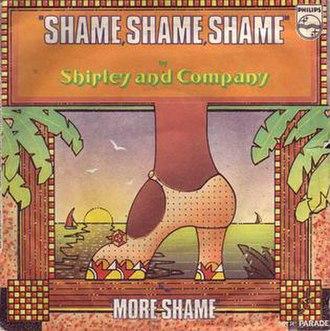 Shame, Shame, Shame (Shirley & Company song) - Image: Sand C Shame
